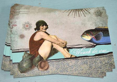 """Postkarten Cloodia """"Wünsch dir was"""""""