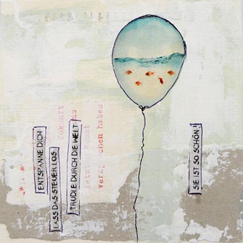 Kollage luftballon cloodia